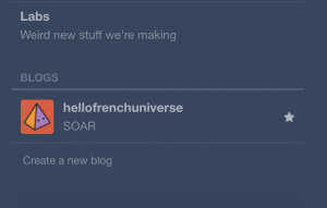 tumblr connect